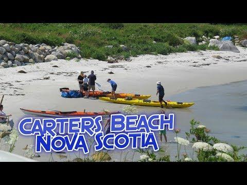 Carter S Beach Nova Scotia Youtube