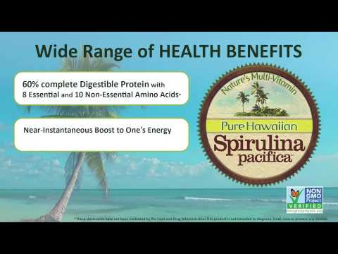 Benefits of Spirulina Pacifica - Nutrex Hawaii