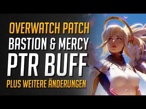 PTR Patch mit Bastion und Mercy Buff   Sensitivitäts Kontrolle und mehr ★ Overwatch Deutsch