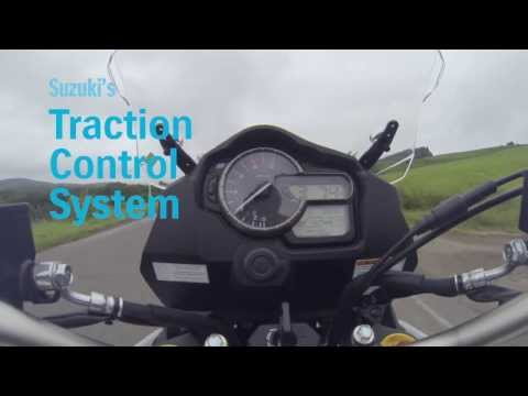 V-Strom 1000 ABS Feature movie --Traction Control System & Instrument Cluster