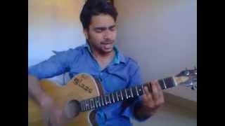 saajna i me aur mai guitar chords by bimal