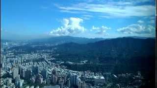 20141128 縮時攝影 101大樓往東 晴 午後轉陰