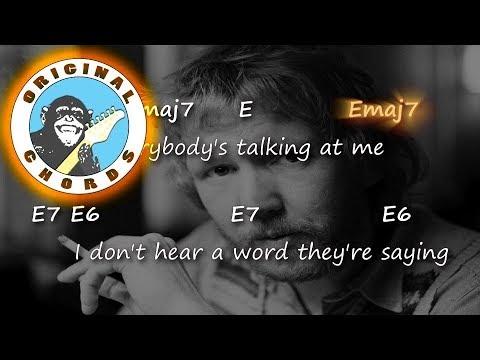 Harry Nilsson - Everybody's Talkin' - Chords & Lyrics