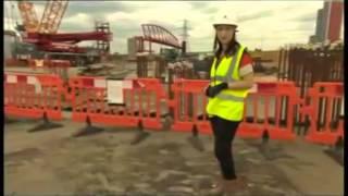 BBC visits City Island's new bridge