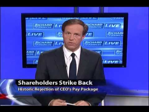 Shareholders Strike Back: Historic Rejection of CEOs Pay Package
