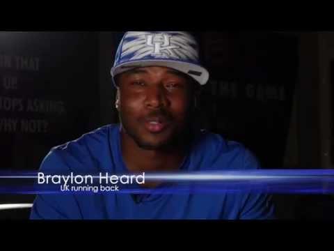 Kentucky Wildcats TV:Sit down with UK Running Back Braylon Heard