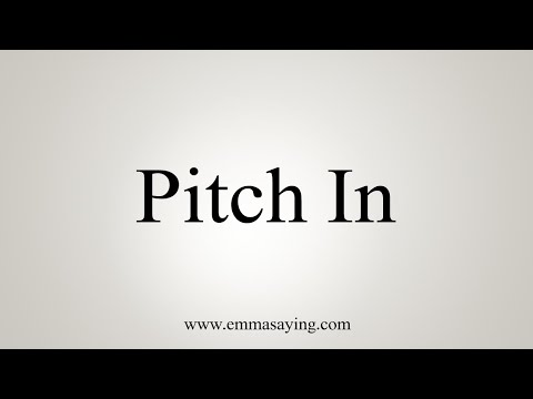 How To Pronounce Pitch In
