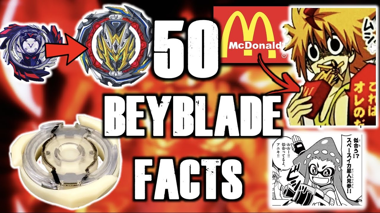50 MORE BEYBLADE FACTS!!