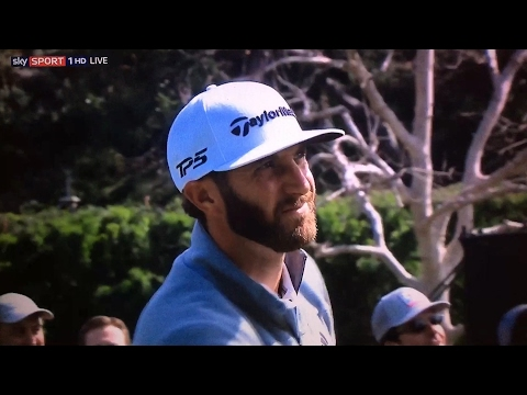 Dustin Johnson Final Round - Genesis Open 2017.