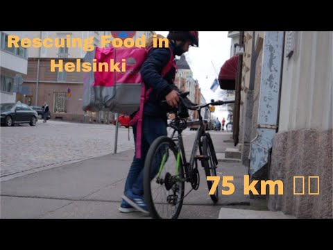 Rescuing Food in Helsinki and 75K 🚴‍♂️