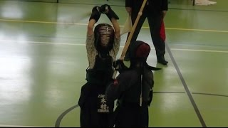 Kendo Zürich Cup 2016 -  Finale Kategorie Team Kids -  Zürich 1 vs Zürich 2