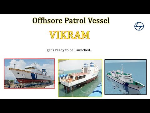 Offshore Patrol vessel VIKRAM