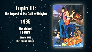 Lupin III: Legend of Gold Babylon - YAS Review