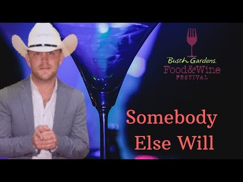 Justin Moore - Somebody Else Will Live Busch Gardens Food And Wine Festival Tampa Bay, FL 3/30/19
