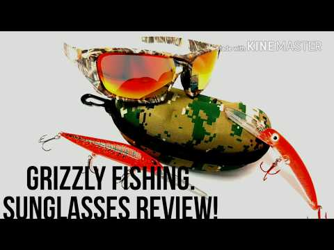 GRIZZLY FISHING.  Sunglasses Review
