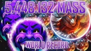 AGMA.IO GLOBAL WORLD RECORD BEATEN! 5.448.132 MASS [World Record by MagmaYT]