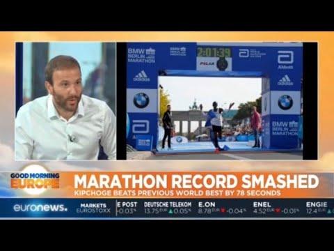 Marathon Record Smashed: Kenya's Eliud Kipchoge beats previous record by 78 seconds