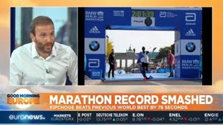 Marathon Record Smashed: Kenya's Eliud Kipchoge beats previous record by 78 seconds