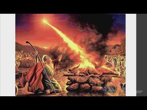 A false fire from Heaven