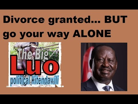 Jubilee Man Drafts Bill To Exclude Luo Nyanza From Kenya