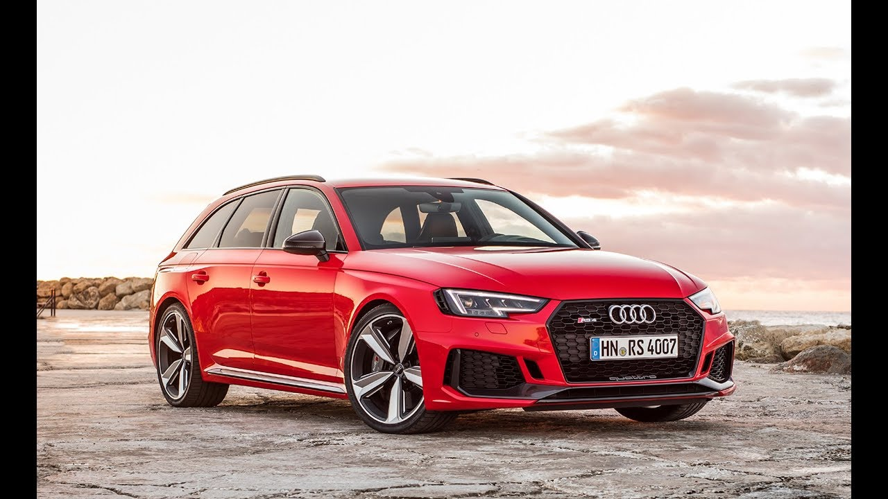 Premier essai] Audi RS4 Avant 2018 - Le Moniteur Automobile - YouTube