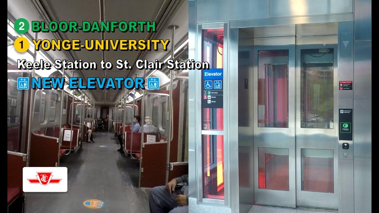 TTC POV Walk: Keele Station to St. Clair Station Via Bloor-Yonge Station