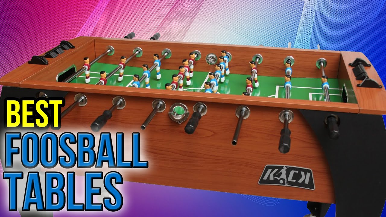 Best Foosball Tables YouTube - How much does a foosball table cost