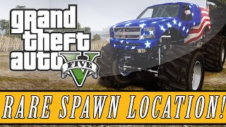 GTA 5: Rare Vehicle Locations | Liberator Spawn Location for Xbox One & PS4 (GTA 5 Next Generation)