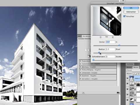 Photoshop Tutorial: Architekturfotos korrigieren