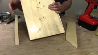 Make A Wooden Sculpting Easel For Masks