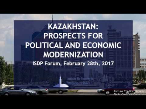 ISDP Forum: Kazakhstan: Prospects for Political and Economic