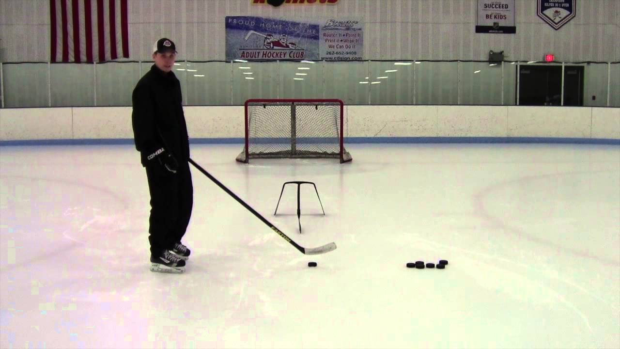 How to Pull a Hockey Deke on Synthetic Ice?