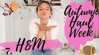 AUTUMN HAUL WEEK 2019 || H&M Haul || DAY 7 || Jessica Chelsea