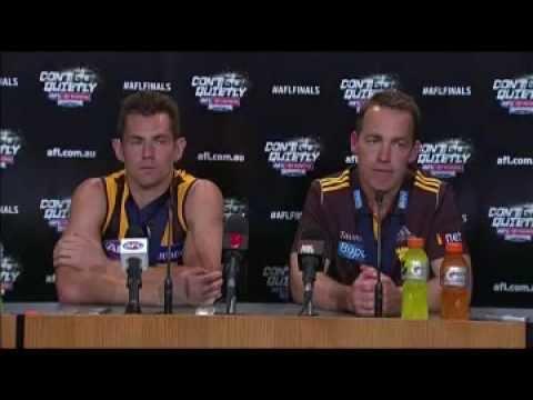 2014 AFL Grand Final Alistair Clarkson Post match