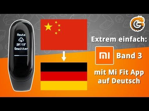 Xiaomi Mi Band 3: DEUTSCHE Firmware mit offizieller Mi Fit App - Tutorial | China-Gadgets