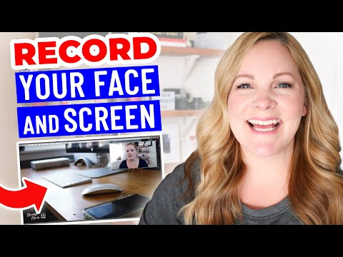 How to Record Yourself and Your Screen at the Same Time