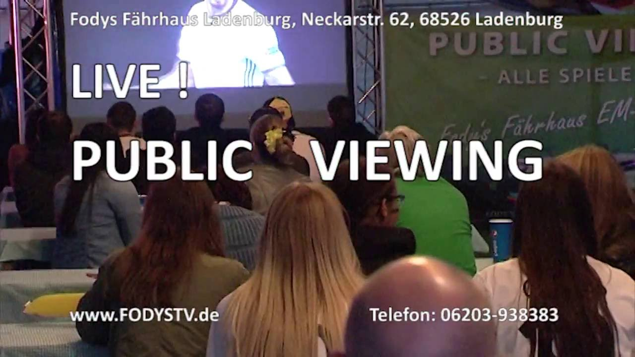 Em Public Viewing Nürnberg