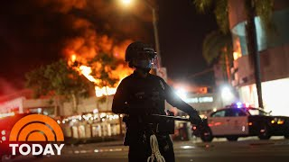Violent Protests And Looting Rock Cities On The West Coast | TODAY