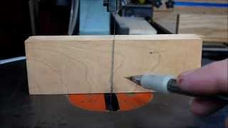 Scroll Saw Blade Alignment
