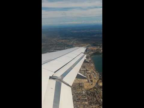 Take off A320 airport Marseille provence