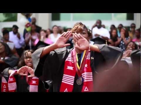 Delta Sigma Theta Sisterhood Step (Lambda Zeta)- Graduation 2012