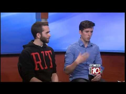 RIT on TV: Super Daryl Video Game on WHEC