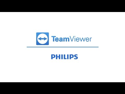 TeamViewer for Philips Professional Display Solutions