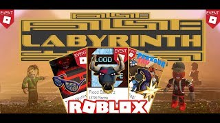 Roblox - Labyrinth Event 2018 Getting all 3 Event Items✨