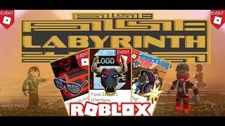 Roblox - Evento Laberinto 2018 Obtener los 3 elementos del evento✨