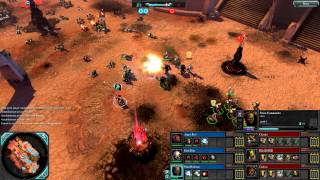 Dawn of War 2: Retribution - 3v3 | Faction War - Space Marines [vs] Orks | 4