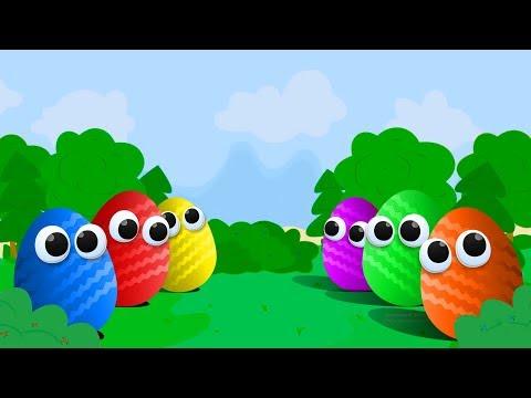 Живые ШОКОЛАДНЫЕ СЮРПРИЗЫ изучают цвета - Открываем Яйца Сюрприз с игрушками Фиксики
