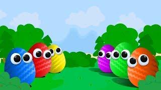 Мультики. Киндер Сюрприз. Фиксики. Учим цвета. Мультик для детей. Surprise Eggs