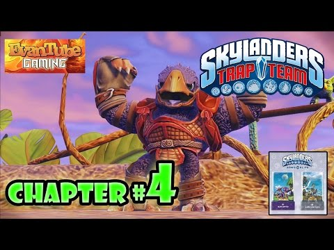 Let's Play Skylanders TRAP TEAM - Chapter 4 Phoenix Psanctuary w/ EON'S ELITE