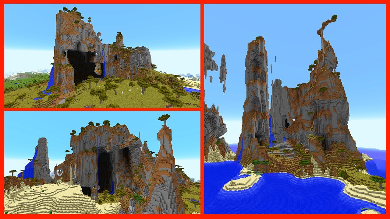 Minecraft 1 12 Seeds - TOP 5 BEST EPIC SEED GENERATIONS - Mountains &  Floating Islands